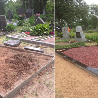 Kapų tvarkymas, priežiūra, restauravimas / Jonas Baršauskas / Darbų pavyzdys ID 605333