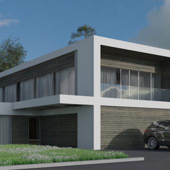 Gyvenamųjų namų projektavimas / Archisto / Darbų pavyzdys ID 606371