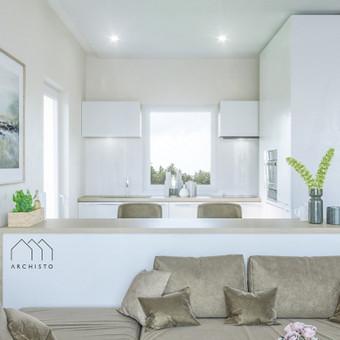 Gyvenamųjų namų projektavimas / Archisto / Darbų pavyzdys ID 606379