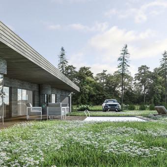 Gyvenamųjų namų projektavimas / Archisto / Darbų pavyzdys ID 606385