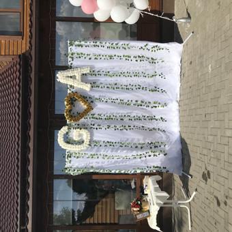 OŠ- vestuvių ir kitų švenčių dekoravimo paslaugos / Šarūnė Osienė / Darbų pavyzdys ID 606735