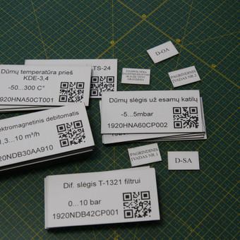 Lazerinio graviravimo ir pjovimo paslaugos / Engrava / Darbų pavyzdys ID 607501