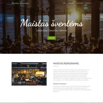 #1 Interneto svetainių, bei parduotuvių kūrimas,  SEO / Jonas Urbonas / Darbų pavyzdys ID 607533