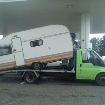 Techninė pagalba kelyje / Traliukas / Darbų pavyzdys ID 81713