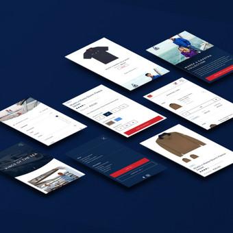 Grafinis / Web / Mobile dizainas ir programavimas (UX/UI)! / Vilius Siugzdinis / Darbų pavyzdys ID 607999