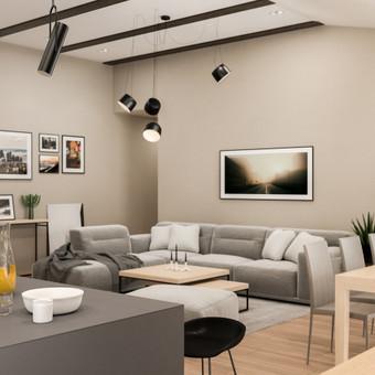 Interjero dizaineris / blur wall / Darbų pavyzdys ID 608017