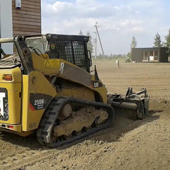 Vejos įrengimas, ruloninė veja, apželdinimas, laistymas / Aplinkos.lt / Darbų pavyzdys ID 608359