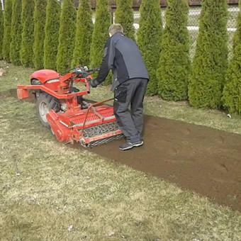 Vejos įrengimas, ruloninė veja, apželdinimas, laistymas / Aplinkos.lt / Darbų pavyzdys ID 608407