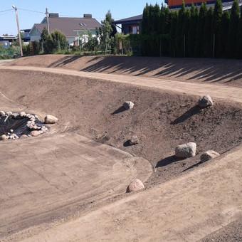 Vejos įrengimas, ruloninė veja, apželdinimas, laistymas / Aplinkos.lt / Darbų pavyzdys ID 608415