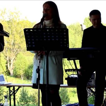 """Vestuvių muzikantai, vedėjas. """"Soft Rain"""". Gitaristas Jums / Kristina Sofa / Darbų pavyzdys ID 608567"""