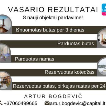 LNTAA sertifikuotas Nekilnojamojo turto brokeris / Artur Bogdevič / Darbų pavyzdys ID 608737