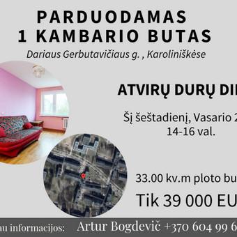 LNTAA sertifikuotas Nekilnojamojo turto brokeris / Artur Bogdevič / Darbų pavyzdys ID 608739