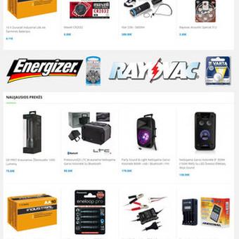 #1 Interneto svetainių, bei parduotuvių kūrimas,  SEO / Jonas Urbonas / Darbų pavyzdys ID 609353