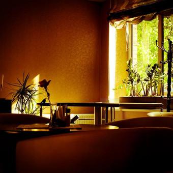 Salotų baras Jums siūlo visas kavinės, baro, restorano paslaugas. Turime dvi sales. Vienoje galime sutalpinti ir aptarnauti net iki 50 asmenų. Pageidaujantiems ypatingo privatumo, galime pasiūly ...