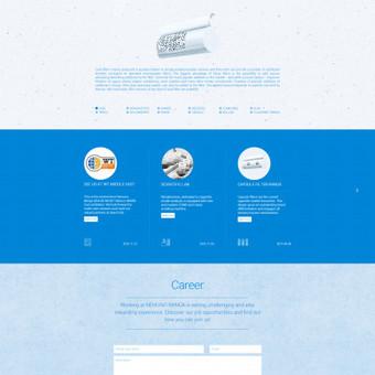 www.nemunobanga.lt įmonės reprezentacinė svetainė.