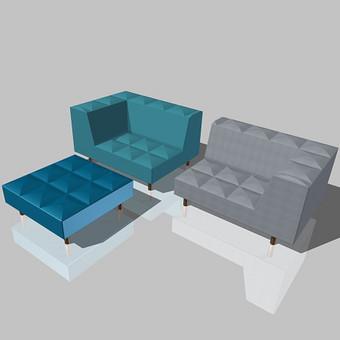 sofos su pufu modelis