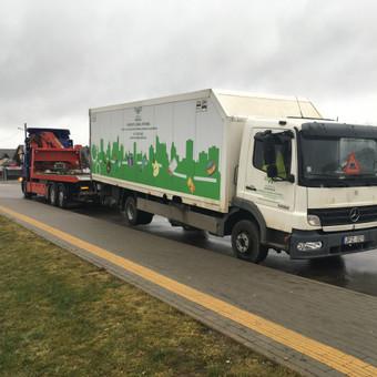Techninė pagalba kelyje visoms transporto priemonems iki 40t / Tomas / Darbų pavyzdys ID 613653