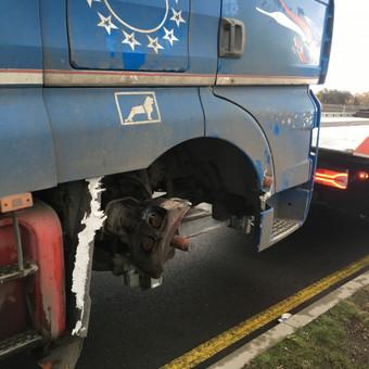 Techninė pagalba kelyje visoms transporto priemonems iki 40t / Tomas / Darbų pavyzdys ID 613655