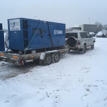 Techninė pagalba kelyje visoms transporto priemonems iki 40t / Tomas / Darbų pavyzdys ID 613677
