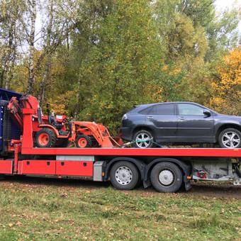 Techninė pagalba kelyje visoms transporto priemonems iki 40t / Tomas / Darbų pavyzdys ID 613705