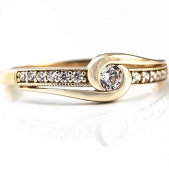 """Vestuviniai ir sužadėtuvių žiedai / MB """"Žiedelio didmena"""" / Darbų pavyzdys ID 613809"""