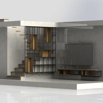 Projektavimas, apdirbimas, suvirinimas, surinkimas / Simonas Rotkinas / Darbų pavyzdys ID 614887