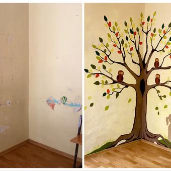 Piešiniai ant sienų/sienų tapyba / Laura Jakutiene / Darbų pavyzdys ID 615385