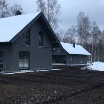 Individualių namų statyba.Karkasinių namų statyba. / Remigijus Valys / Darbų pavyzdys ID 615831