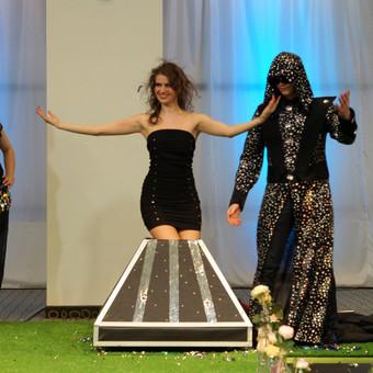 Iliuzionistas Jonas Palionis, šokėjų kolektyvas Leila Dance / Renata Leila / Darbų pavyzdys ID 616807