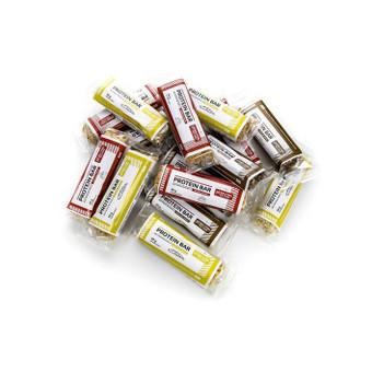 Etiketės maketas baltymų batonėliams