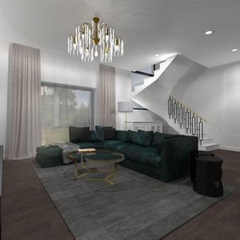 Casa-nova interjero dizainas ir projektavimas / Casa-nova Interjero dizainas / Darbų pavyzdys ID 619653