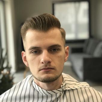 Vyriški kirpimai,barzdų modeliavimas,skutimas. / Loreta / Darbų pavyzdys ID 620657