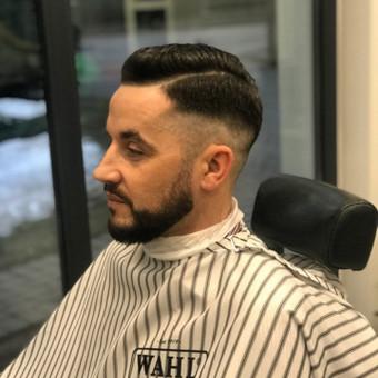 Vyriški kirpimai,barzdų modeliavimas,skutimas. / Loreta / Darbų pavyzdys ID 620673