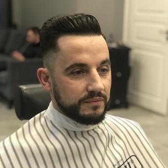 Vyriški kirpimai,barzdų modeliavimas,skutimas. / Loreta / Darbų pavyzdys ID 620675