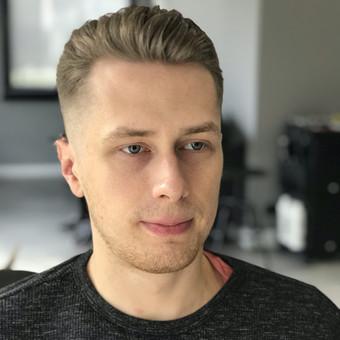 Vyriški kirpimai,barzdų modeliavimas,skutimas. / Loreta / Darbų pavyzdys ID 620679