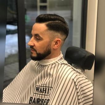 Vyriški kirpimai,barzdų modeliavimas,skutimas. / Loreta / Darbų pavyzdys ID 620689