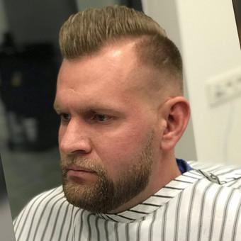 Vyriški kirpimai,barzdų modeliavimas,skutimas. / Loreta / Darbų pavyzdys ID 620699