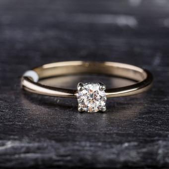 Sužadėtuvių žiedai su Deimantais / Dote Jewellery / Darbų pavyzdys ID 621237