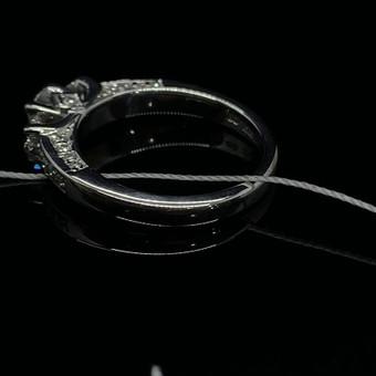Sužadėtuvių žiedai su Deimantais / Dote Jewellery / Darbų pavyzdys ID 621241