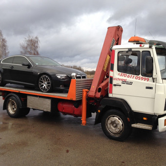 Techninė pagalba kelyje / Hempa Transportas / Darbų pavyzdys ID 83033