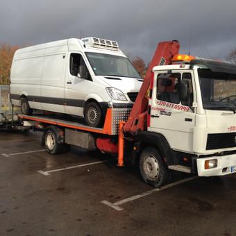 Techninė pagalba kelyje / Hempa Transportas / Darbų pavyzdys ID 83038