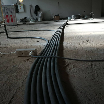 Elektros instaliacijos irengimas / Šarūnas / Darbų pavyzdys ID 623491