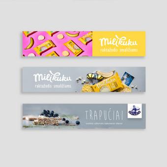 Profesionali grafikos dizainerė + dizaino pamokos / Kristina Gald / Darbų pavyzdys ID 625919