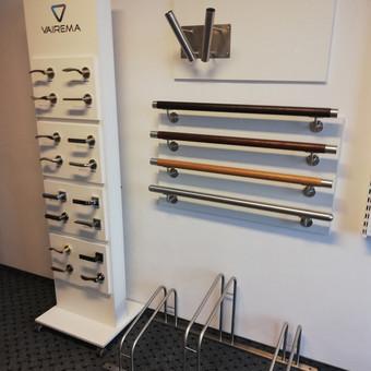 Turėklai iš nerūdijančio plieno ir  vidaus durys <Vaidmanta> / Vaidmanta MB / Darbų pavyzdys ID 626093