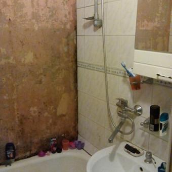Senas vonios kambarys