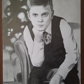 Dailininkė Vilniuje / Olesia Fedorovich / Darbų pavyzdys ID 630229