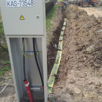 Vaizdo stebėjimo, pastatų apsaugos ir elektros montavimas / Virgilijus / Darbų pavyzdys ID 630707