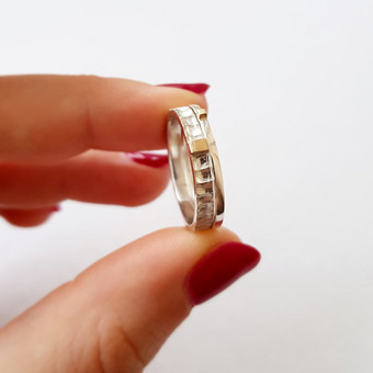 moov jewelry papuošalai iš sidabro, aukso / Vlada D. / Darbų pavyzdys ID 633363