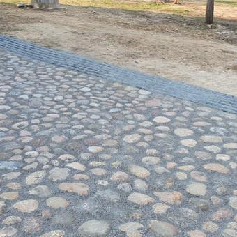 Akmens mūro darbai, Šlaitų ir pakrančių tvirtinimas,Gabion / Saulius / Darbų pavyzdys ID 633443
