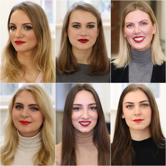 Valentino Dienos projektui, kaip įrodymas, kad visos moterys gali dažytis lūpas raudonai. Pabandyk ir tu.
